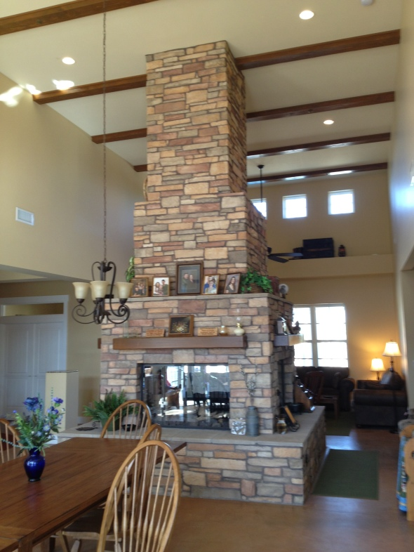 Block multi-opening Fireplace Phoenix Arizona