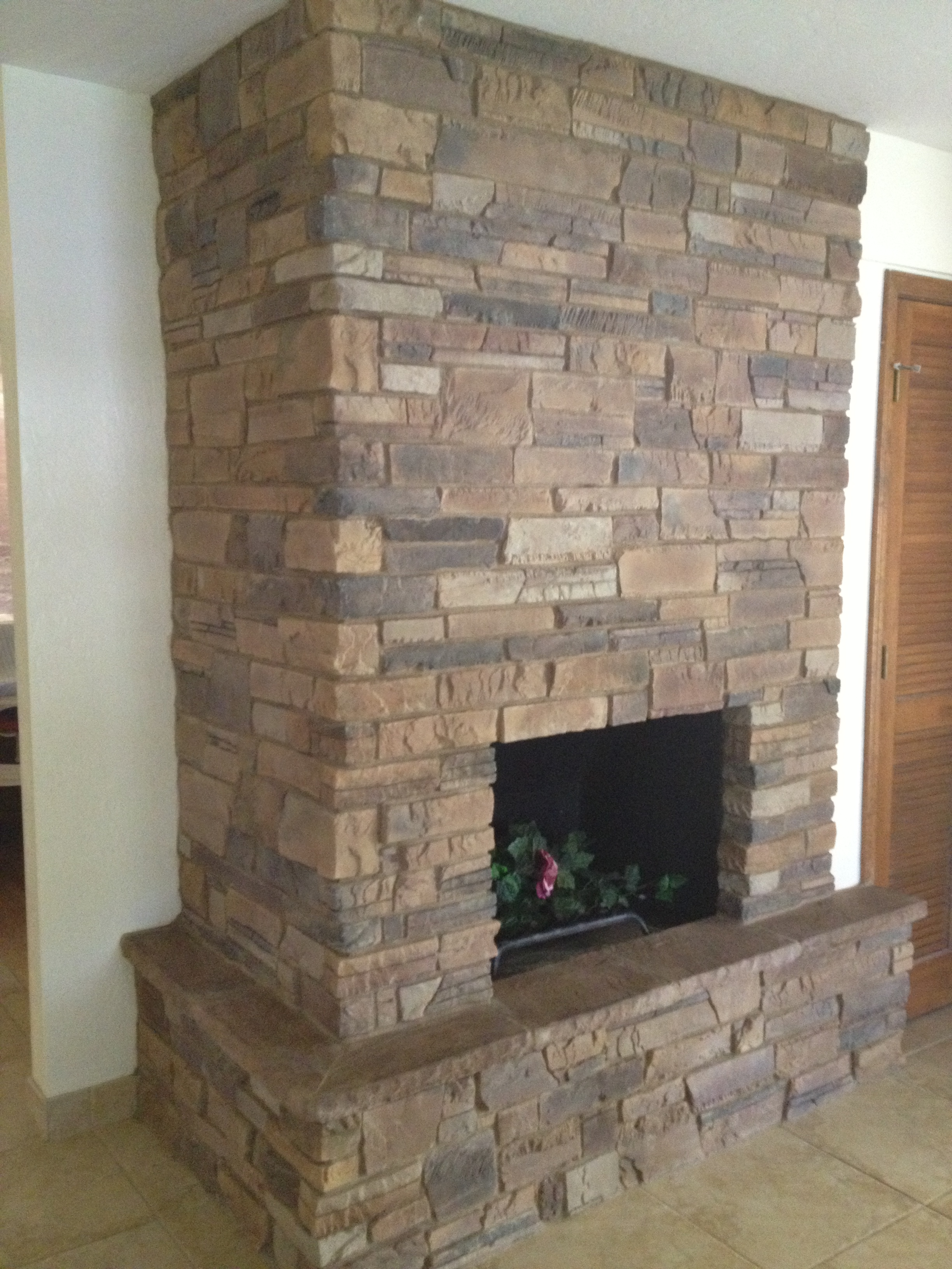 Fireplaces etc darrin gray corp for Brick or stone veneer