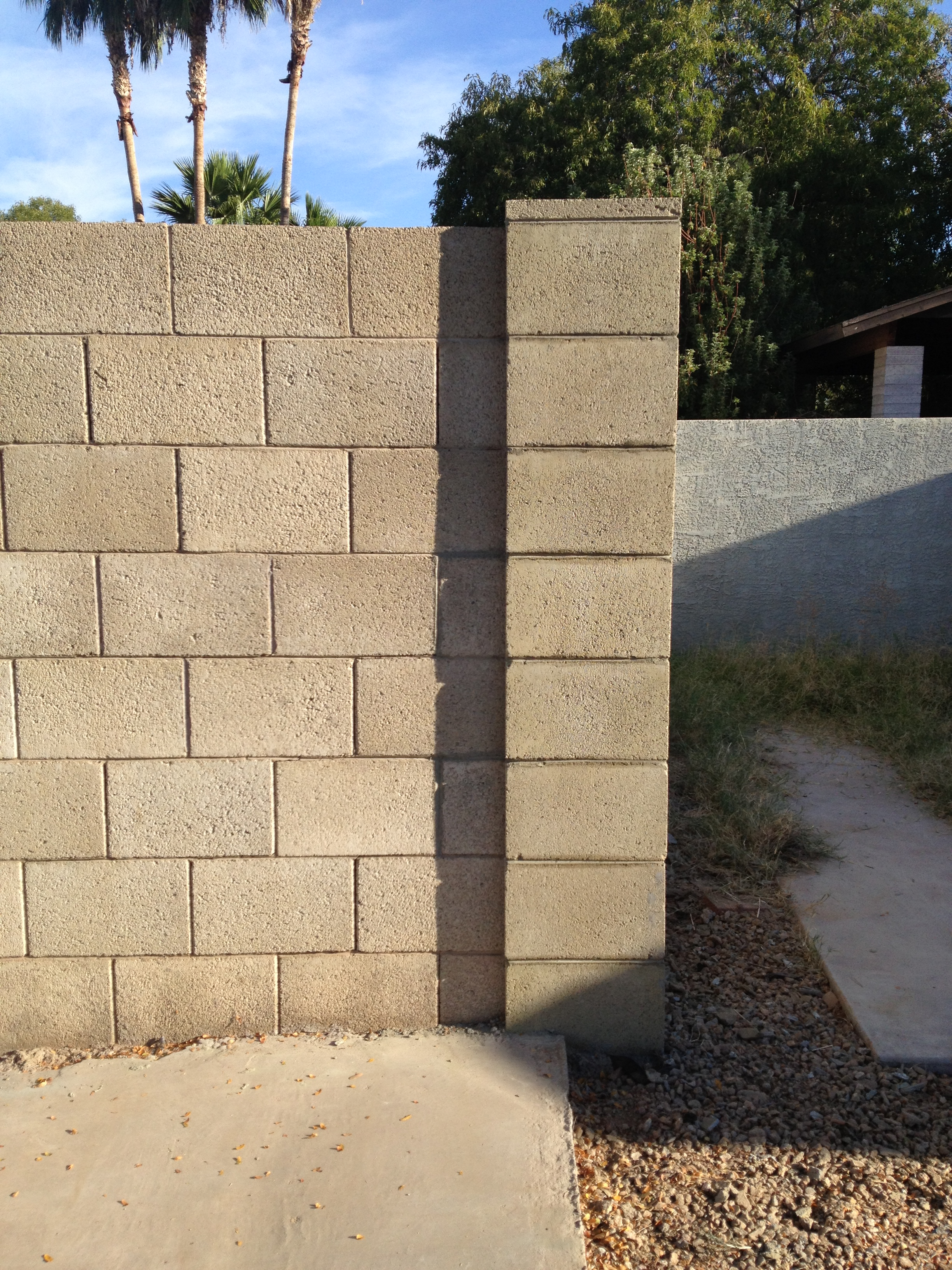 Masonry Fence Design Darrin gray corp masonry division block wall repair workwithnaturefo
